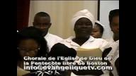 Chorale de l'Eglise de Dieu de la Pentecote libre de Boston