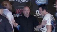 UFC 148: Press Conference Faceoff