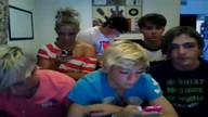 Ross's reaction to a Raura question.