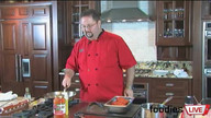 Chef Christopher Costantino Demonstrates Braciole Saltimbocca and Tiramisu