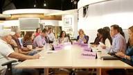 Ricki Lake Production Meeting LIVE on NEW Set