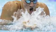 올림픽 수영: 록티 첫 금메달, 펠프스 4위