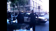 Men walking down street have Oakland Police pull guns on them.