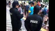 20120803「北海道庁前 反原発抗議行動」ファミリーエリア
