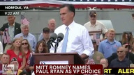Full Speech: Romney Chooses Ryan