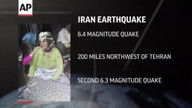 Strong earthquakes devastate northwest Iran