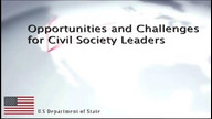 Opportunities and Challenges for Civil Society Leaders