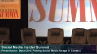 Presentation: Data Dive: Putting Social Media Usage in Context
