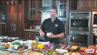 FoodiesLive featuring Chef Josh Hebert and gourmet Labor Day Burgers
