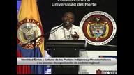 Juan de Dios Mosquera Mosquera Presidente Movimiento Nacional Cimarrón