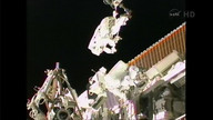 Breathtaking views of ISS spacewalk