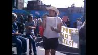 Elders lead Women's Housing March, Vancouver