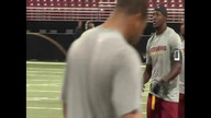RGIII preps for game 2 versus Rams