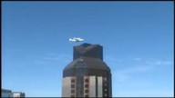 Shuttle Endeavour soars over Golden Gate