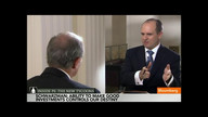 Blackstone's Schwarzman on Private Equity Industry