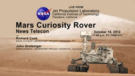 NASA Mars Rover News: Oct. 18