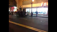 SF police move in on World Series rioters
