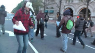 Walking Tour Protest in DC
