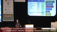 Presentation: Fine-Tuning Content -- The Road to Search and Audience Segmentation