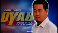 Arangkada of Leo Lastimosa over DYAB 1512 khz on January 9, 2013