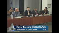 CitiStat Buffalo - 1/16/2013 - Public Works