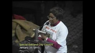 Bella Eiko Speaks At #oakmtg Jan. 22, 2013