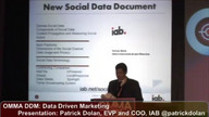 Presentation: Social Data Best Practices