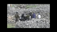Israeli Troops Clash With Palestinian Settlers