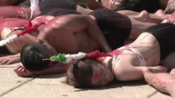 Raw: Anti-bullfighting Protest in Mexico