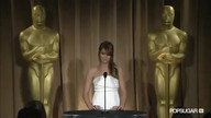 Jennifer Lawrence on Oscar night