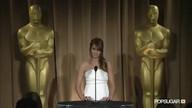 Jennifer Lawrence on Oscar night