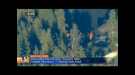 Cabin Fugitive Dorner Supposedly Hiding In Engulfed In Flames