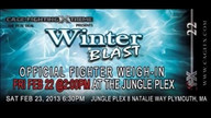 CageFX - Fighter Weigh Ins