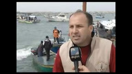 Palestinian Fisherman Hold First Protest
