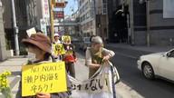 20130309四電本店前デモ、要請行動