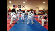 3/23/13 Taekwondo Sparring Practice Recorded Live at American Martial Arts Academy - Naperville