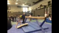 Level 8 Beam at Regionals (Hallie)