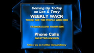 Lex & Terry Show 4/22/13 Part 2