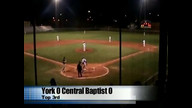 York vs. Central Baptist
