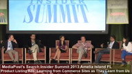 Panel: Product Listing Ads: Learning from Commerce Sites as They Learn from Us