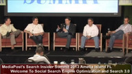 Panel: Welcome To Social Search Engine Optimization and Search 3.0