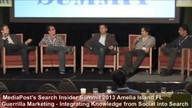 Panel: Guerrilla Marketing -- Integrating Knowledge from Social into Search