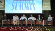 Panel: There's Data, Then There's Business Intelligence