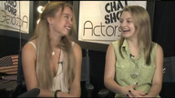 Actress Evie Louise Thompson and Host Laci Kay on ActorsE