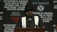 Press Conference Replay: Mayweather vs. Guerrero