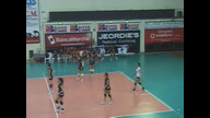 Helviarecina Volley 25   Fabriano  21 - 3  Set
