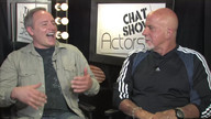 Actor Gary Moore with Host Ric Drasin on ActorsE Chat