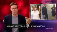 Video: Is the Feud Over? Kim Kardashian and Kanye West Had Dinner with Anna Wintour! Plus More…