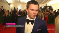 Video: Nicholas Hoult Talks Punk Icons, Kanye West, and X-Men at Met Gala