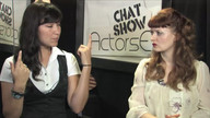Actress America Young and Host Cerris Morgan-Moyer on ActorsE